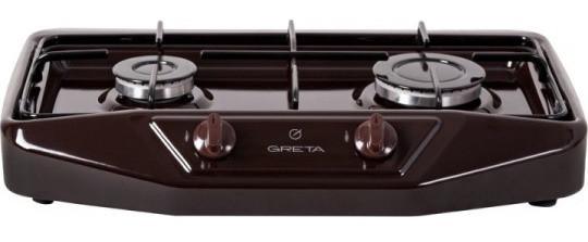 Плита газова настільна Greta 2 конфорочна (Дружківка)