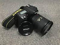 Зеркальный фотоаппарат Nikon D80 + объектив Nikkor 18-200, фото 1