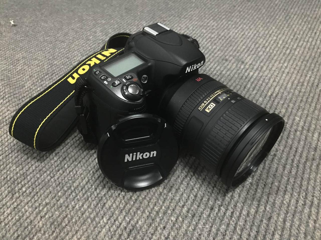 Зеркальный фотоаппарат Nikon D80 + объектив Nikkor 18-200