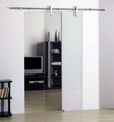 Розсувна система для скляних дверей Омега 120C