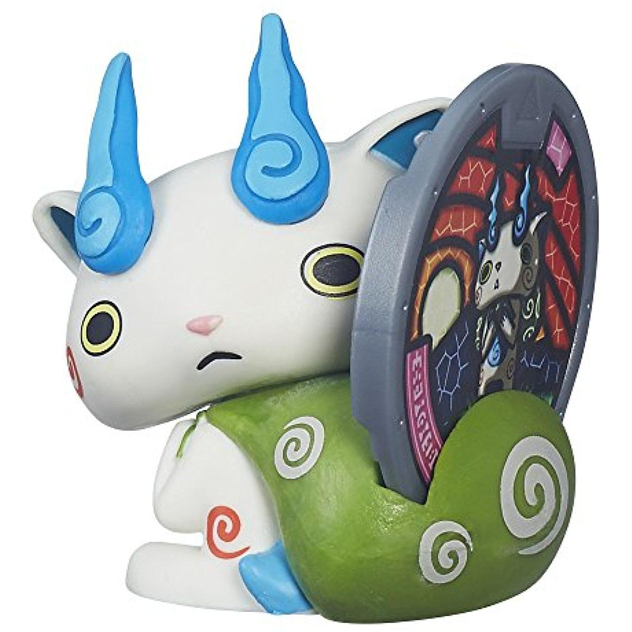 Фигурка Yo-Kai Watch с медалью - Komasan. Оригинал Hasbro B5940/B5937