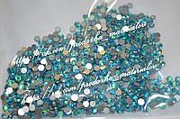 "Стразы стеклянные ""Aquamarine AB"" (аналог swarovski) ss6 (2 mm)"