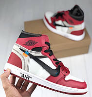 Мужские кроссовки Nike Air Jordan   the 10 x Off white. Живое фото (Реплика 7db1536ca96