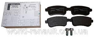 Renault (Original) 440604694R - Комплект задних тормозных колодок (электро ручник) Рено Меган 3, Рено Флюенс