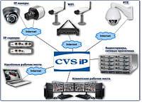Недорогая система цифрового IP видеонаблюдения на 1 камеру, фото 1