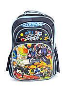 Рюкзак школьный Robots 1487 синий
