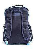 Рюкзак шкільний Robots 1487 синій, фото 3