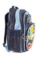 Рюкзак шкільний Robots 1487 синій, фото 2