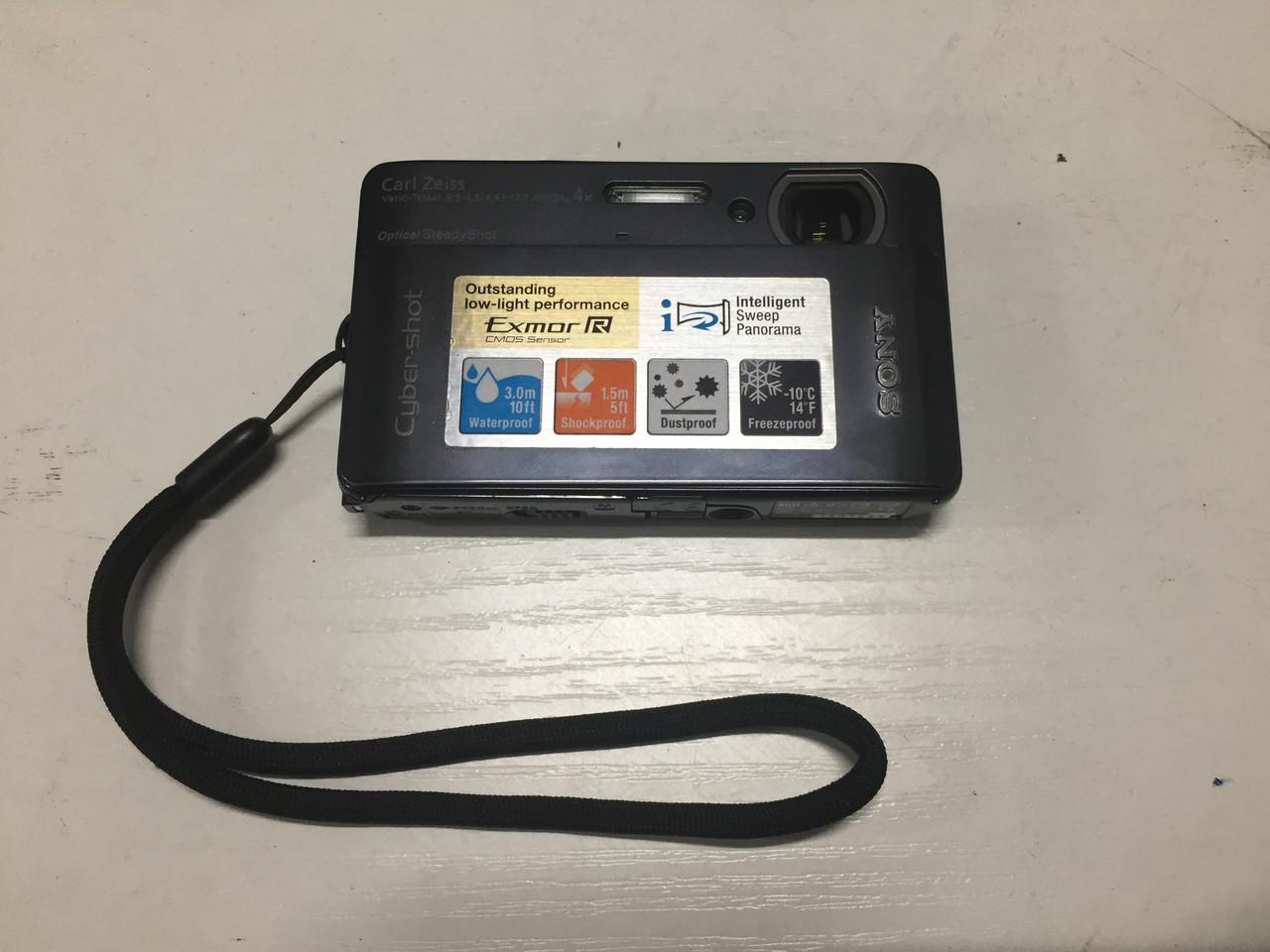 Цифровой фотоаппарат водонепроницаемый Sony DSC-TX5 сенсорный портативный
