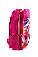 Рюкзак шкільний Clubnetics 4718 рожевий, фото 2