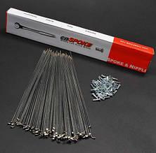 Спица CN Spoke Нержавеющая сталь 2.0х286мм (C-K-SZ-0013)