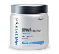 Пудра Деколор для осветления волос Profistyle 500г