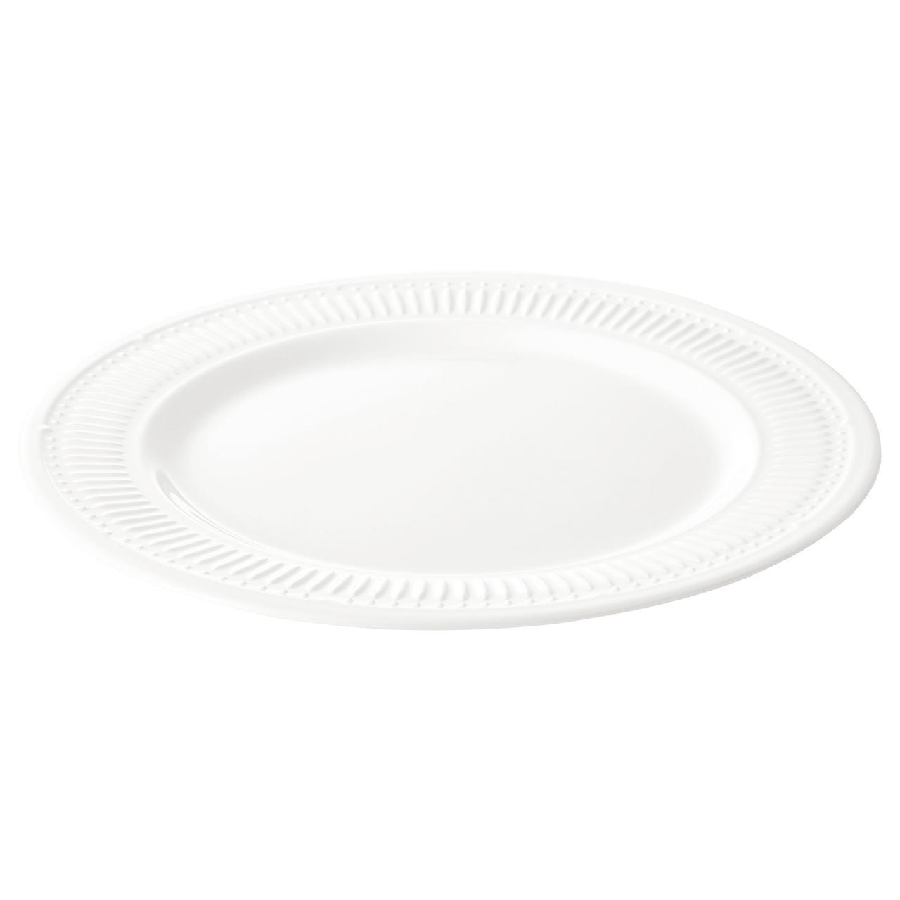 ✅ IKEA SANNING (103.193.85) Тарелка, белый