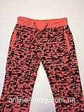 Детские спортивные штаны на девочку 6-8 лет, рост 122-128, фото 3