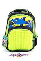Рюкзак школьный Pixel 4785 зеленый