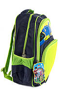 Рюкзак школьный Pixel 4785 зеленый, фото 2