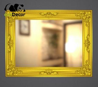 Зеркало настенное Caracas в золотой раме