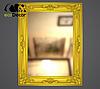 Зеркало настенное Caracas в золотой раме, фото 2