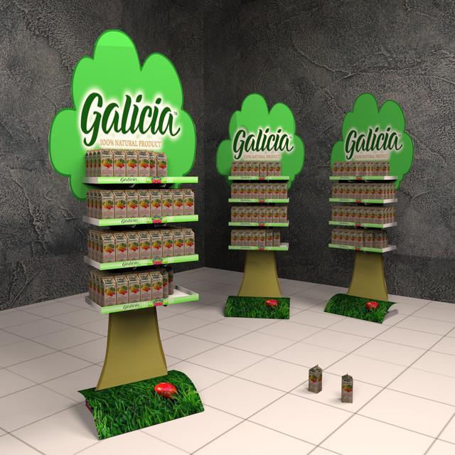 Торговые стойки Galicia на заказа