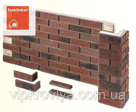 """""""ISOKLINKER"""" панель из клинкерной плитки и утеплителя (Германия)"""