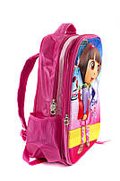 Рюкзак школьный Dora 5961 розовый, фото 2
