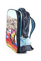 Рюкзак школьный Тачки 5946 синий, фото 2