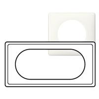 Рамка - Программа Celiane - 4/5 модулей - Белый глянец