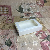Коробка для пряников Молочная с окном  100*150*30