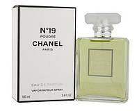Женская парфюмированная вода Chanel No 19 Poudre (воздушный зеленый шипровый аромат)