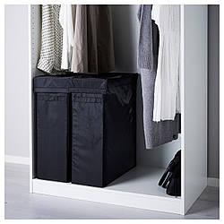 ✅ IKEA SKUBB (302.240.46) Сумка для прачечной, черный