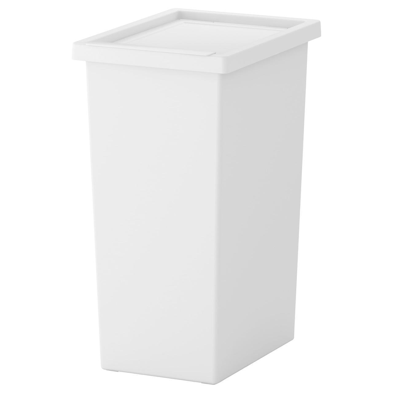 FILUR (201.938.99) Пластиковая корзина с крышкой