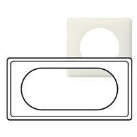 Рамка - Программа Celiane - 4/5 модулей - Белая перкаль