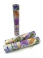 """Хлопушка """"Евро"""" 30 см, 80 лист."""