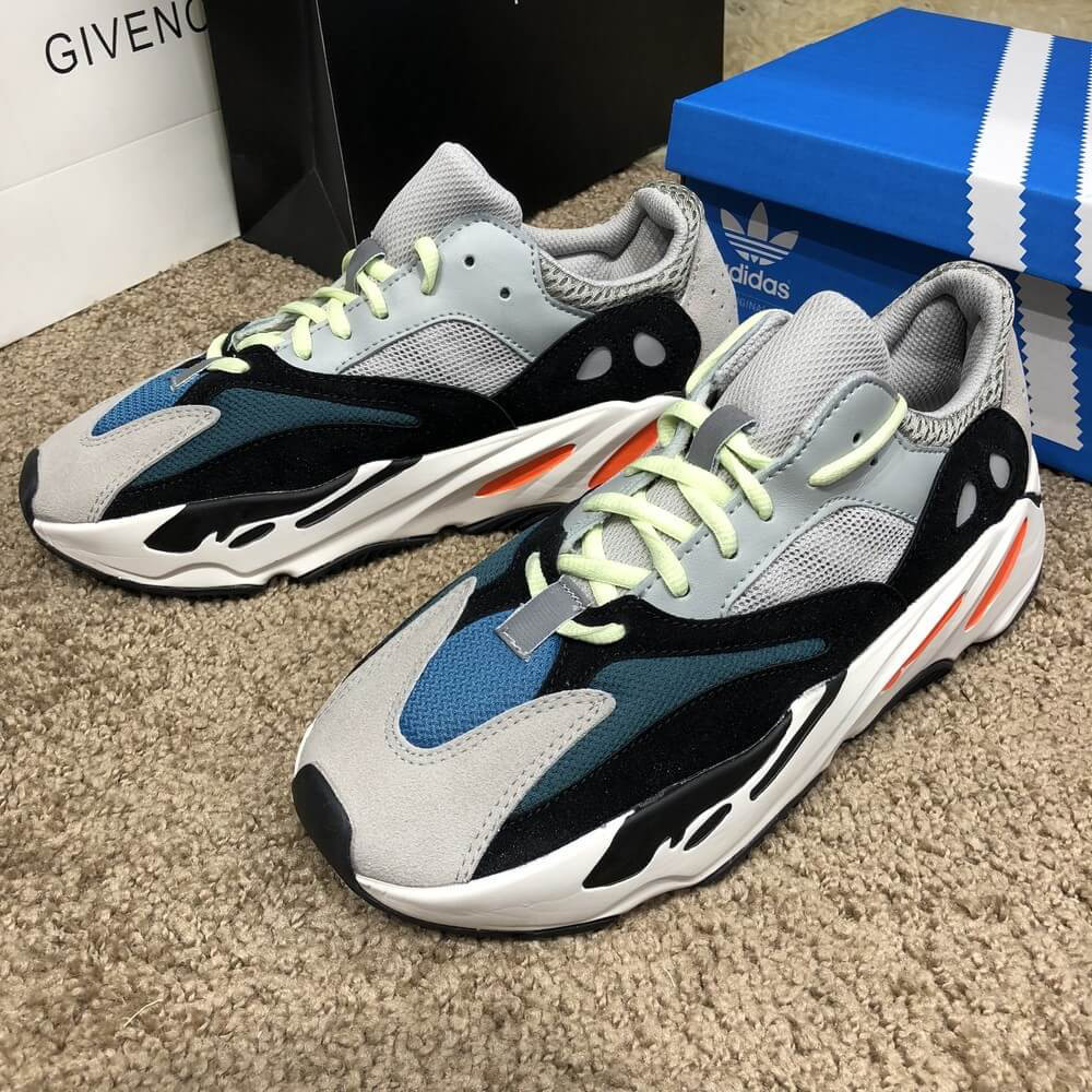 8cf7a3951329 Кроссовки Adidas Yeezy Boost 700 Wave Runner адидас изи буст ези вейв ранер  солид грей реплика