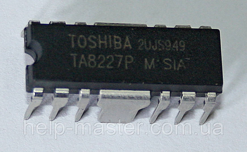 Мікросхема TA8227P (DIP12F)