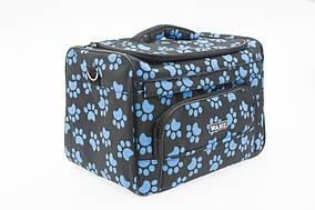 Сумка-органайзер Wahl Paw Print Bag с декором, 38х24х26 см
