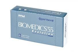 Контактні лінзи CooperVision, Biomedics55 Evolution