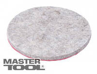 MasterTool  Круг войлочный на липучке мягкий влагостойкий 100 мм, Арт.: 08-6710