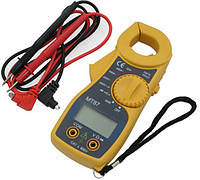 Тестер-клещи MT87, цифровой мультиметр, функция удержания данных на экране, тест диодов, питание 2 х ААА
