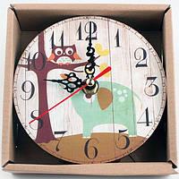 Настольные часы MirAks CK-5386 (12x12x1 см)