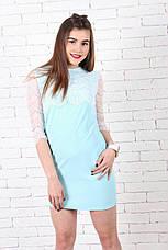 Женское мини-платье хлопок №233, фото 3