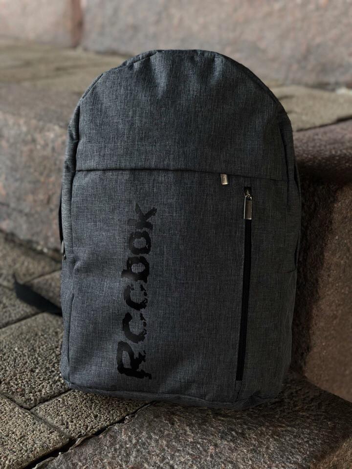 Рюкзак Reebok, цвет темно-серый, ткань kiten, фото 1