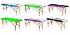 Массажная кушетка стол RELAX 60 см 2х секционная