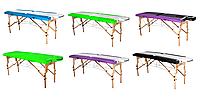 Массажная кушетка стол RELAX 60 см 2х секционная, фото 1