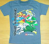 Детская футболка Ninjago на мальчика 5 лет. Последние размеры, скидка!