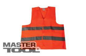 MasterTool  Жилет со светоотражающей лентой оранжевый XXХL, Арт.: 83-0003