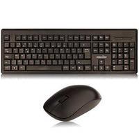 Комплект проводной RF Cordless keyboard and mouse ps-2 черный