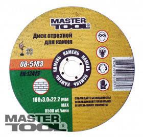 MasterTool  Диск абразивный отрезной для камня, Арт.: 08-5183