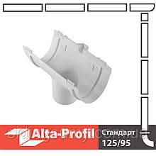 Воронка Альта-Профіль Стандарт 115/74 мм білий