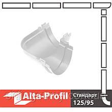 Кут жолоба Альта-Профіль Стандарт 90 градусів 115 мм білий